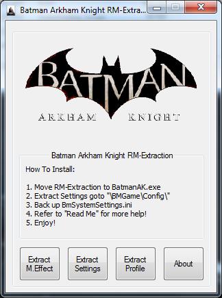 Batman Akrham Knight RM-Extraction
