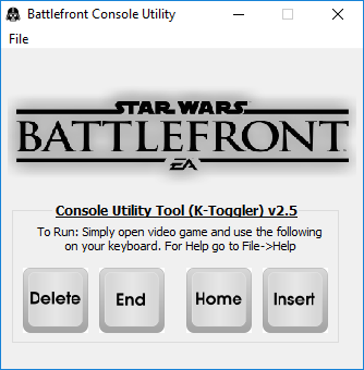 Star Wars Battlefront Utility Program